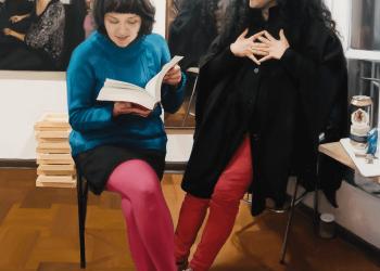 El libro de Sextrologia- Oleo sobre lienzo, 100 x 80 cm. 2013