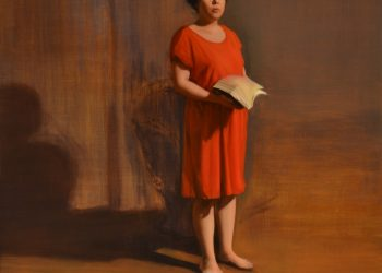 """""""Verano""""variación. Alegorías III,  Oil on linen, 115 x 100 cm. 2017"""