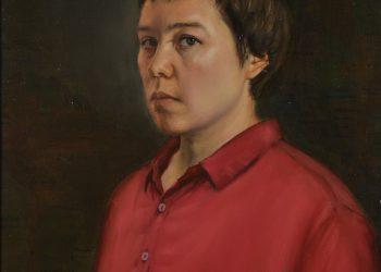 Autorretrato a los 31 años. Oil on canvas. from life. 60 x 45 c. 2013